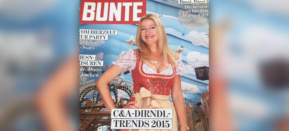 Bunte Promotion-Shooting im Dirndl
