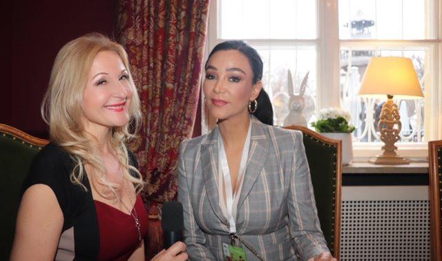 Interview mit Verona Pooth im Seehaus